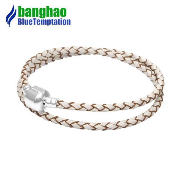 charms bracelet silver joyas de plata 925 original perles pour la fabriation de bijoux jewelry apricot bracelets for women