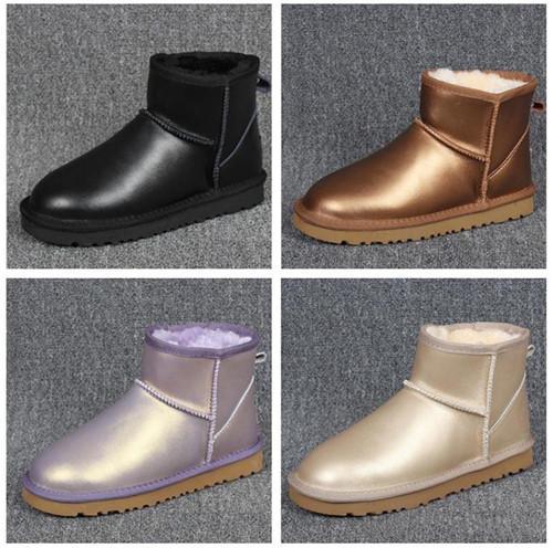 Designer-Stiefel ug Frauen Schneeschuhe Wasserdichte Australische Art Warme Winter Outdoor Stiefeletten Marke Ivg