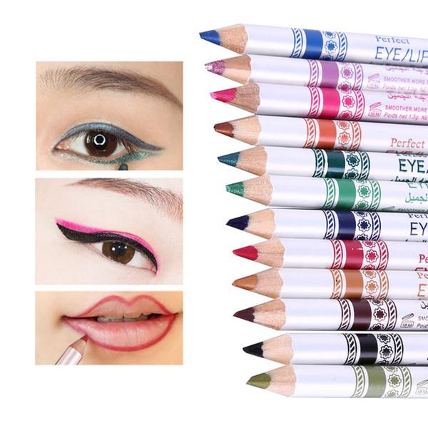 Eye Makeup Eyeliner Set Waterproof Shimmer Eye Liner Pencil Easy To Wear Cosmetic