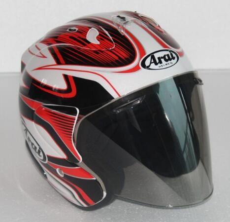 Free Shipping 2017 Arai Dual Use Skull Motorcycle Helmet Capacete Casco Novelty Retro Casque Motorbike Half Face Helmet001