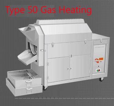 50 chauffage à gaz de type