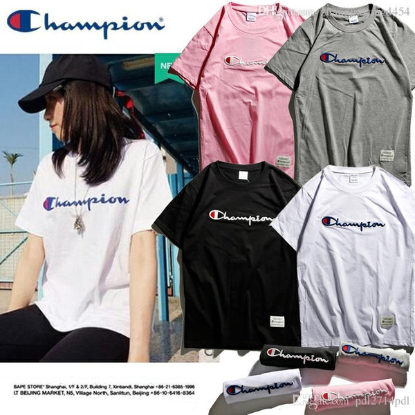 Women's new pure cotton t-shirts, European and American classic three-dimensional embroidered t-shirts, Polo shirts.