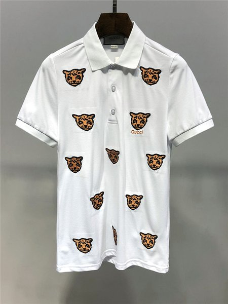 2019 sommer neue ankunft top qualität tees marke designer clothing männer polos drucken t-shirts m-3xl 6936