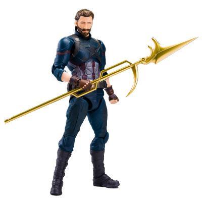 2019 nuovo modello The Avengers 3 SHF Captain America mobile con scatola Toy Action Figure Model