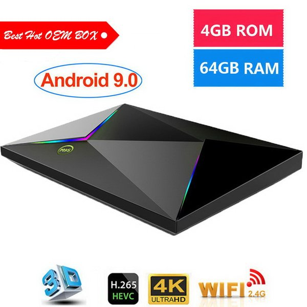 Cheapest M9S Z8 4gb 32gb 64gb allwinner H6 android 9.0 tv box streaming set top box H.265 6K Google Player Store MINI PC media player