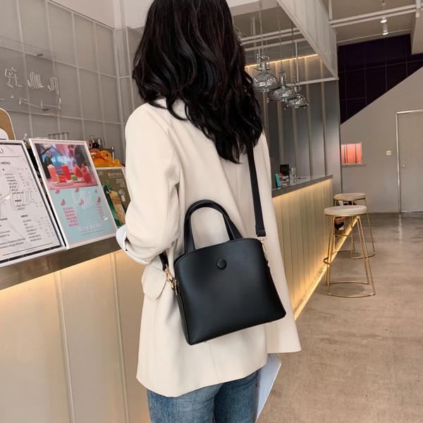 Кожа Crossbody конструкторов-сумки для женщин 2019 Контрастность Цвет плеча Сумка Lady Design Письмо пояса Tote сумки