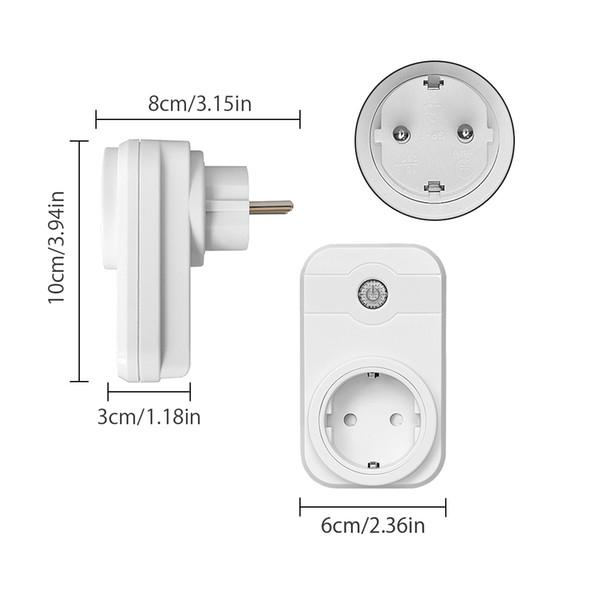 Cheap Power Plug NTONPOWER Smart Wifi Plug Socket EU with App Remote Control Timer Wifi Socket Smart remote wireless Controls
