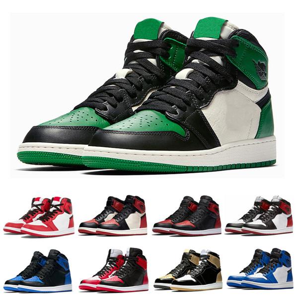 OG Mens Ben Basketbol Ayakkabıları Çam Yeşil Siyah Ayak Barons Metallc Kırmızı Yeni Aşk UNC Üçlü siyah Üst En İyi Erkek Atletizm Sneakers Eğitmenler