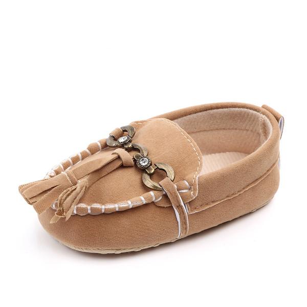 Toddler Little Kid Boys Girls Soft Slip On Penny Loafers Dress Flat Tassels Shoes Prewalker Moccasin Fashion Baby Sneakers