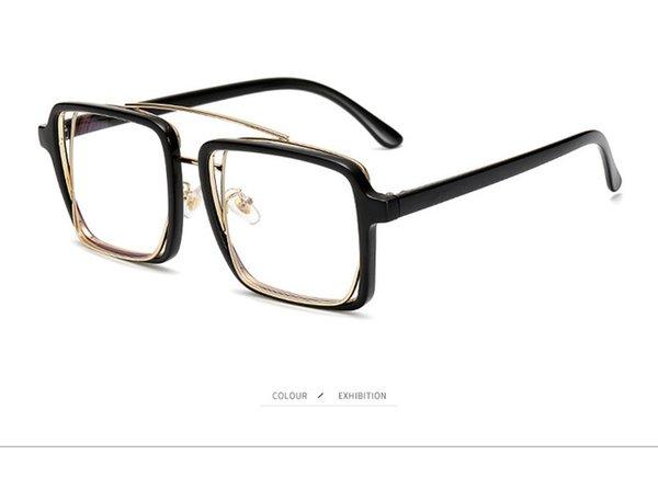 Lenses Color:black plian