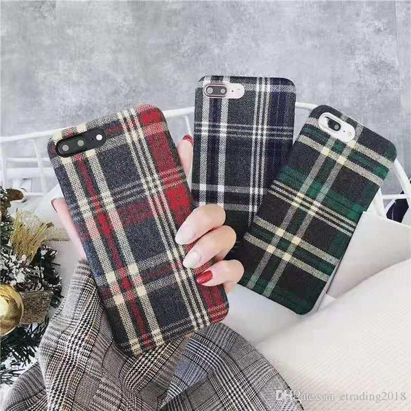 Classic England Style Case Cover For iPhone 6 7 8 9 Plus XS XR XSMAX Hot New
