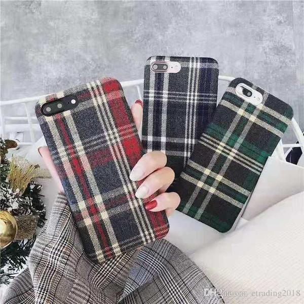 Klasik İngiltere Stil Kılıf Kapak iphone 6 7 8 9 Artı XS XR XSMAX Sıcak Yeni