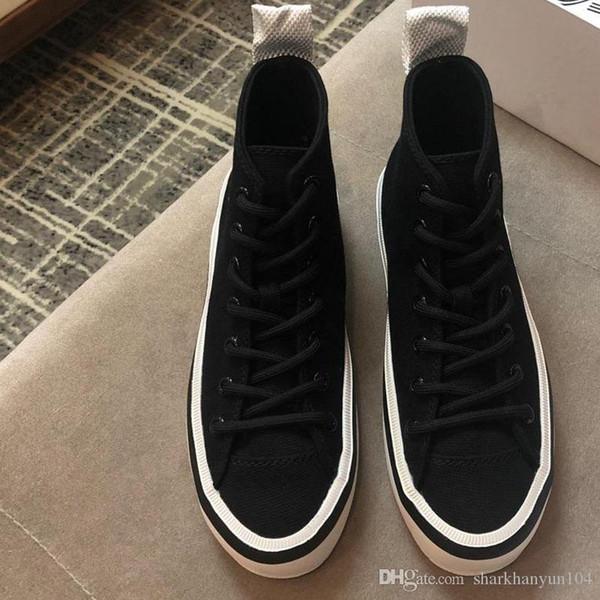 Nuove donne di moda scarpe casual designer di lusso high-rise sport tela donne scarpe occhio amorevole 3D collocazione casuale stereo NB: O12-0 +4
