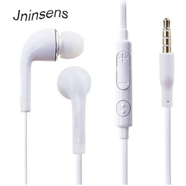 3.5mm com fio fone de ouvido estéreo fone de ouvido earbud earpieces com mic microfone para samsung para xiaomi para huawei huawei mp4