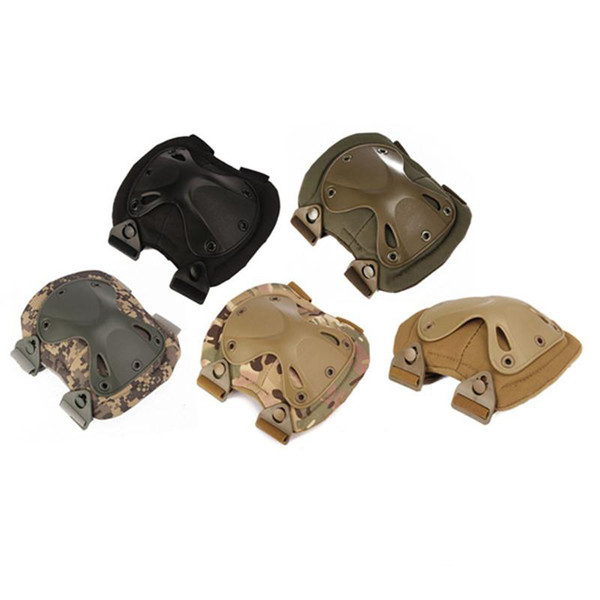 best selling Army Tactical Paintball Airsoft Hunting Protection War Game Knee Elbow Protector Outdppr Knee Pads & Elbow Pads Set