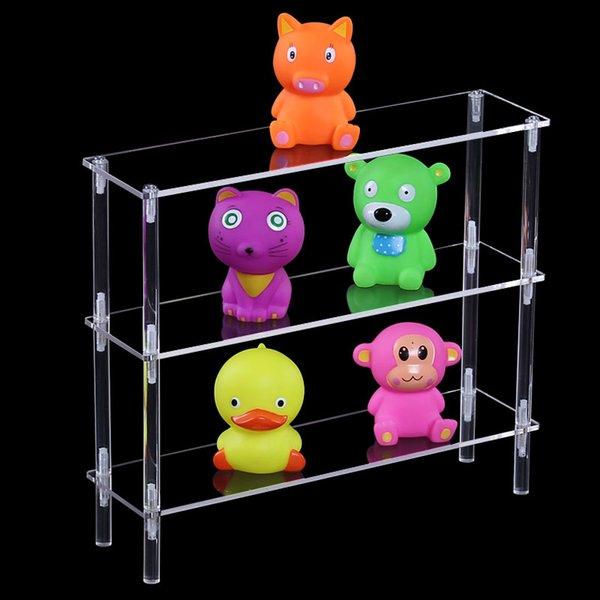 Yjbetter Home use acrylic storage stand,display shelf,toy display rack,hotel and shop displays multifunctional display stand