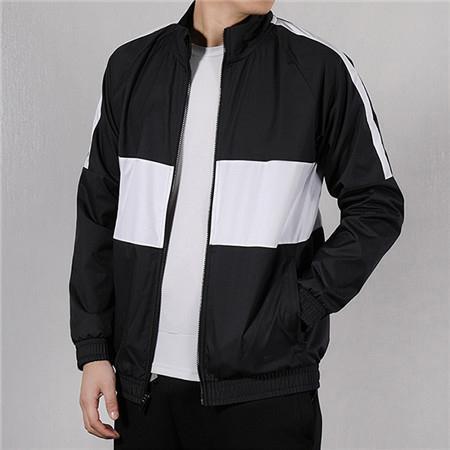 Erkek Kadın Rüzgarlık Marka Dış Giyim Ceketler Futbol Kulübü Mont Tasarımcı Fermuar Patchwork Sonbahar Uzun Kollu Spor Koşu Cepler-LJJ98304