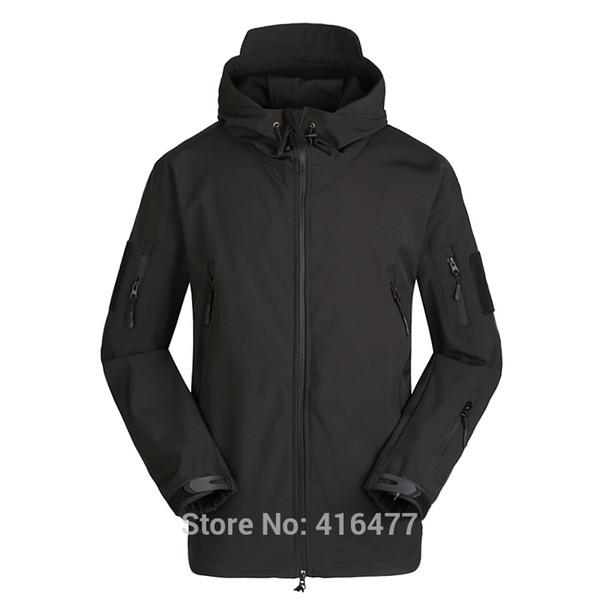 Men Soft Shell TAD SharkSkin Waterproof Tactical Jacket Hoodie Coat