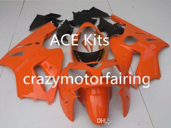 3 Free Gifts New Injection Mold ABS Fairing Kits for Kawasaki Ninja ZX-12R 2000 2001 nice Yellow P8