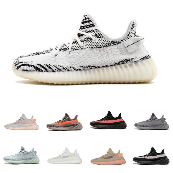 Adidas Yeezy 350 V2 Chaude En Gros 2019 Nouvelle Argile Kanye West Chaussures De Course Limitée True Forme Hyperspace Static Athlétique Baskets