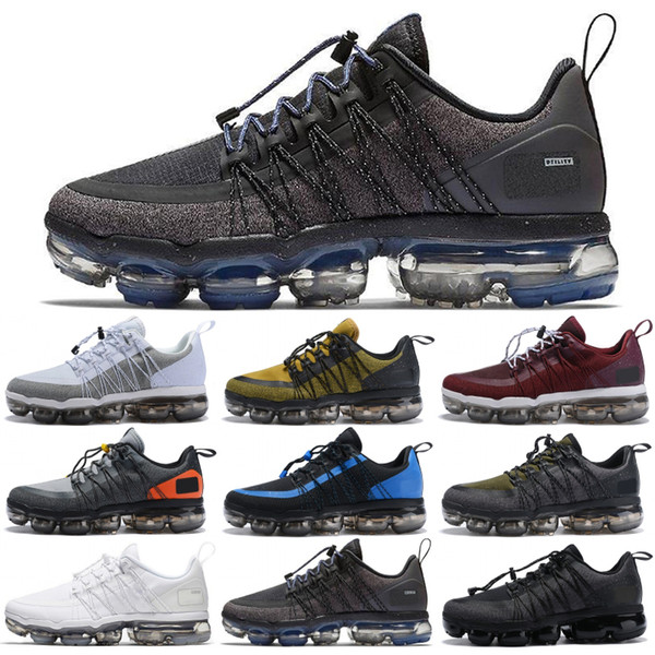 Top Quality Run Utility Men Running Shoes Medium Olive Light Silver Urban Bounce Blue Dusk Designer Sneakers Cheap Sport Shoes