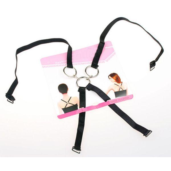 1 STÜCK Fashion Charming Sexy Frauen Hinter Dem Bogen Unsichtbare Drei ringe Unterwäsche Schultergurt Kreuz Gürtel Sommer Zubehör