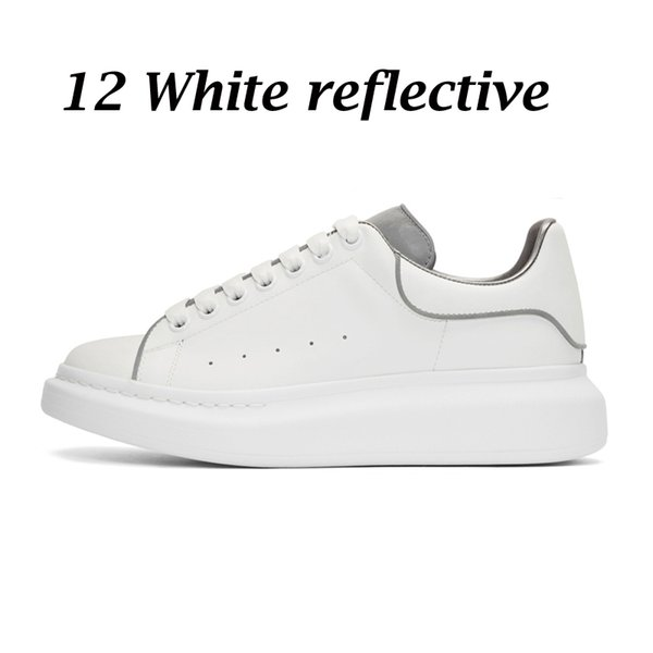 12 white reflective