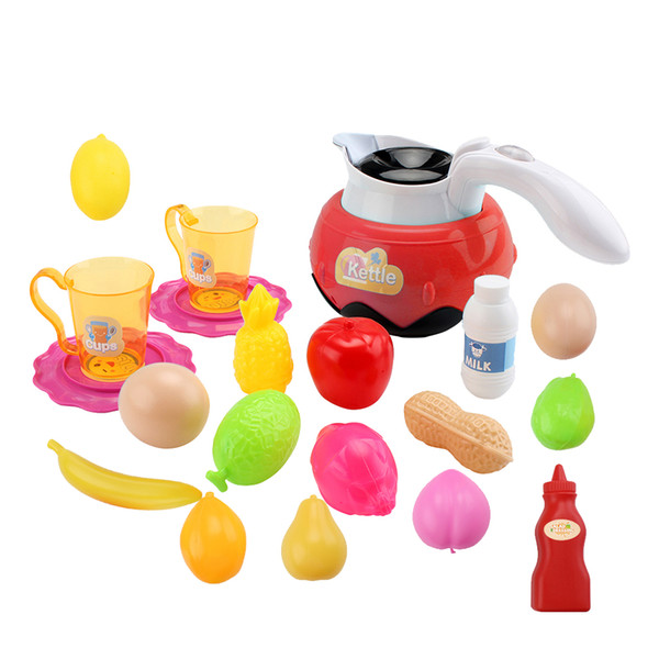 best selling Electric Simulation Kettle Small Appliances Play House Toys
