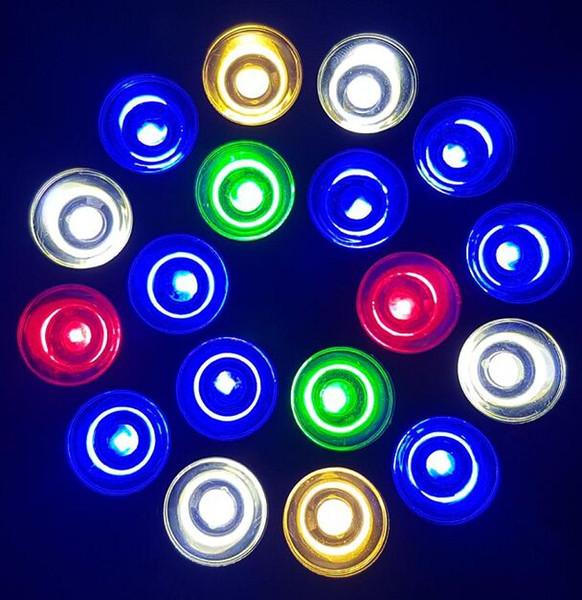 18W LED Aquarium-Glühlampe Par38 E27 für Korallenriff-Fisch Salzwasser Frischwassertank Pflanzenwachstum Platz Gooseneck-Halter