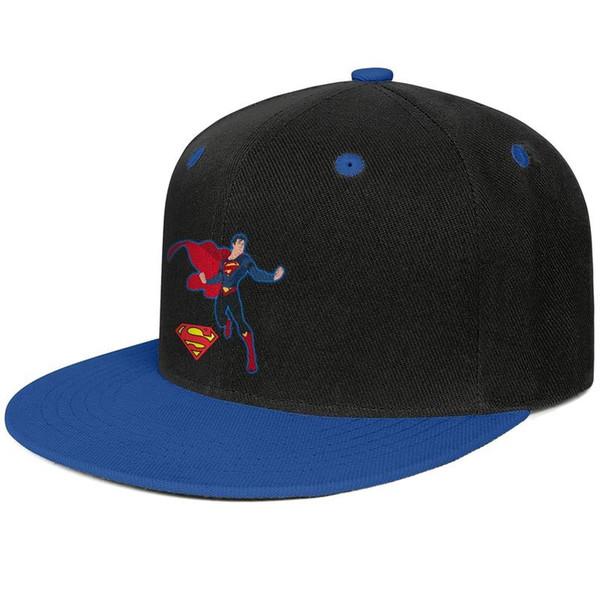Overkill Superman Design for men and women flat brim hats Blue snapback design kids hats plain design your own custom your own blank cute
