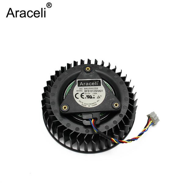 1 PCS VENTILADOR PARA DELTA BFB1012SHA01 12 v 2.4A Referência R9 390x AMD R9 390X 390 X fan Placa Gráfica