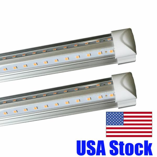 Свет пробки Сид 4ft 8ft V-образный интегрированный свет пробки Сид T8 4 5 6 футов длинних пробок crestech света Сид