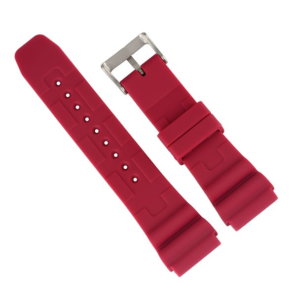 22MM Silicone Replacement Women Watches Band High Quality Silicone Pin Buckle Wristwatches Band Waterproof pasek do zegarka