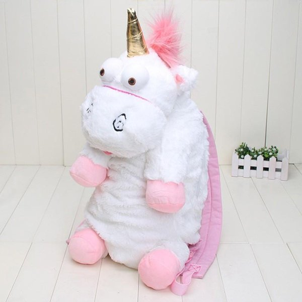 Crazy2019 Plush Unicorns Children Backpacks Kindergarten Bitherday Gifts For Girls And Boys Cute Plush Toys Bags Kids Backpack Animal