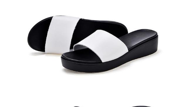 Moda feminina simples altura plana plana antiderrapante sapatos femininos