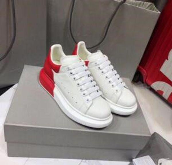 2019 autumn new small white shoes female sponge cake sports shoes Korean leather thick bottom wild 889611