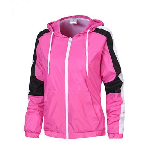 Marca manica lunga di alta qualità 2019 nuovo designer mens moda sciolto giacca a vento e colori naturali per cappotto sportivo con taglia M-2XL QSL198304