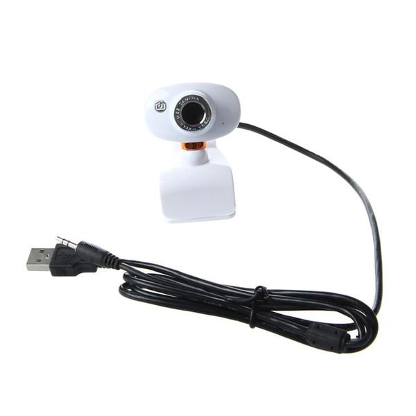 Caméra USB 2.0 HD Webcam Web 50,0 M Cam avec MIC pour PC portable Ordinateur Orange Blanc