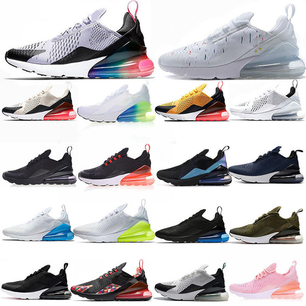 2019 270 Cushion Sneaker Designer Zapatos casuales 27c Trainer Off Road Star Iron Sprite Tomate Hombre General para hombres, mujeres 36-45 con caja