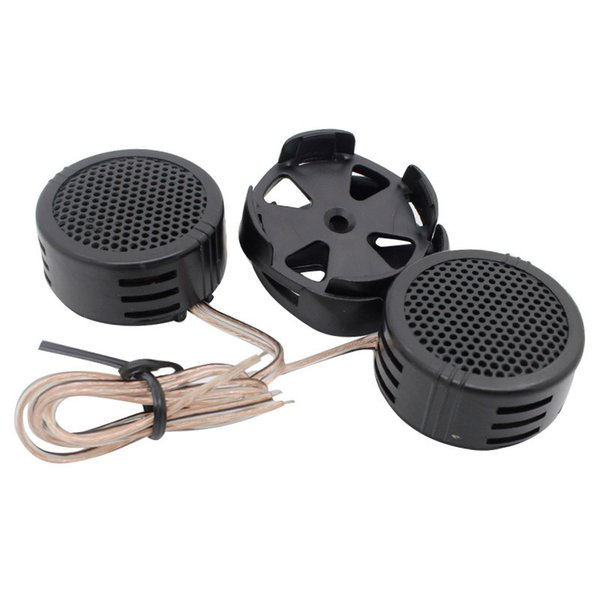 1 pair Car Auto super power speaker Tweeter 500W high dome speaker cap for MP3 Mp4 CD player Universal Audio systems New