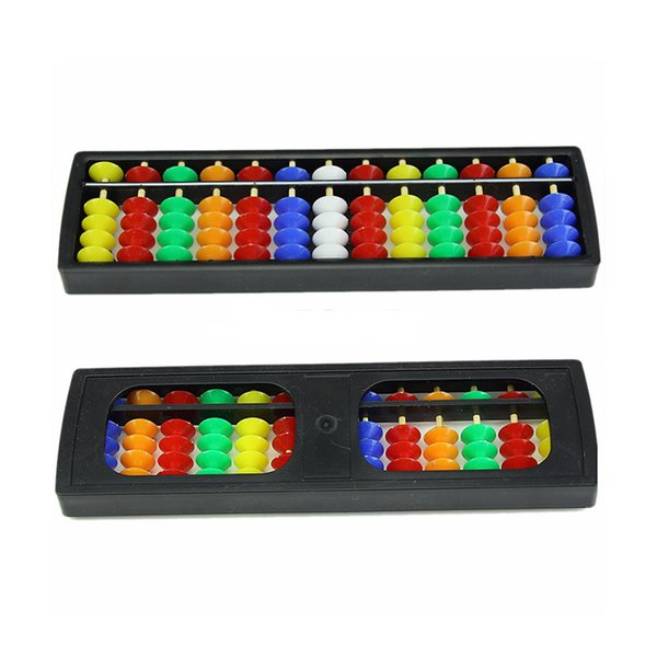 Arithmetic Soroban Colorful Beads Mathematics Calculate Chinese Abacus Early Educational Toys For Children Student Kindergarten