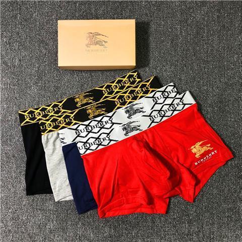 2019 marque de lingerie design nouveau créateur de mode Marque Caleçon Homme Mode sexy de luxe boxers Homme court Caleçons Boxeurs Sous-vêtements