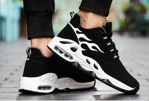 Chaussures de sport pour hommes en hiver, nouvelles chaussures coréennes 2019, édition coréenne