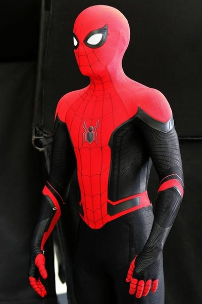heap Movie & TV costumes Newest Far From Home Spiderman Costume 3D Printed Spider-Man Superhero Costume Cosplay Suit For Adult/Kids /...