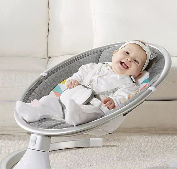 huge selection of a6f3a de996 2019 Baby Electric Rocking Chair Cradle Chair Recliner Baby Coax Baby Coax  Sleep Newborn Soothing Chair Shake Sound Shake Bed From Lxx666, $250.26 |  ...
