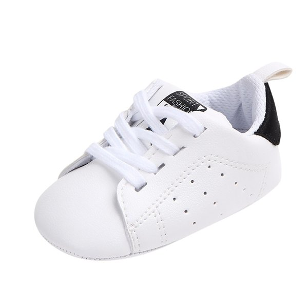 Girl Toddler Shoes Baby Child Soft Canvas Anti-slip Shoes Letter Sneaker Anti-slip Spring and autumn Crib #YL