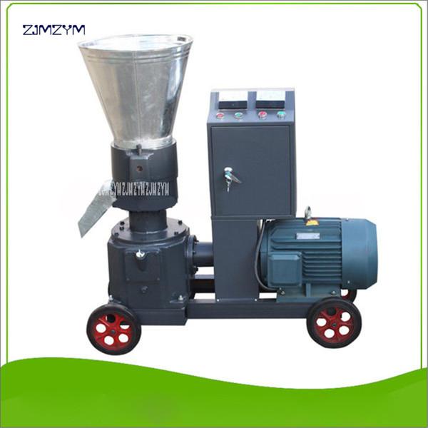 top popular WKL200B High quality Granulator mash pellet machine 380V 50 Hz Granulator 200-300kg h Feed pellet production ,70-110kg h Wood 2020