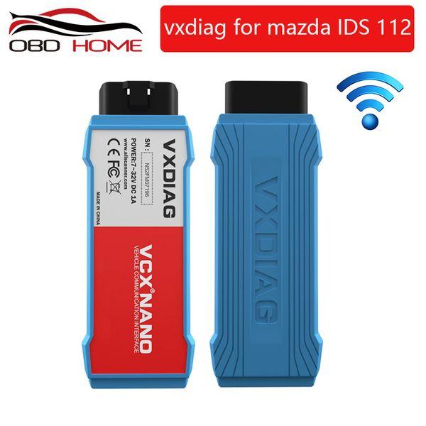 2019 Super OB2 Diagnostic tool Original VXDIAG VCX NANO for Mazda 2 in 1 IDS V112 Auto Diagnostic Tool Scanner Free shipping
