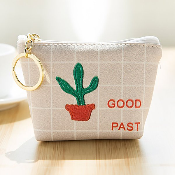Fashion coin purse ladies women cute fashion bag mobile phone key storage bag cartoon mini wallet girl purse portamonedas