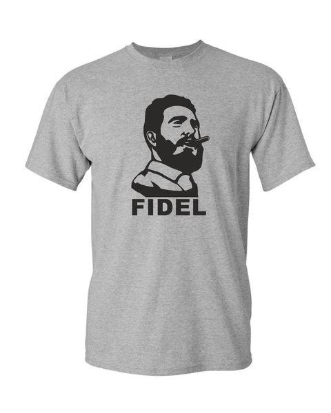 FIDEL CASTRO mens t shirt  CUBA revolution communism